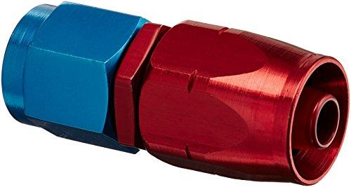 Aeroquip 1012-06AN Schlauchende gerade, rot/blau