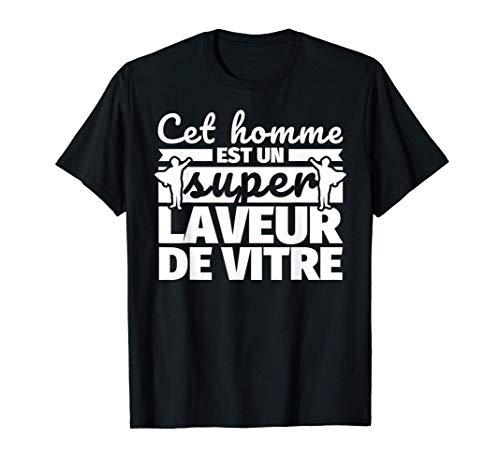 Laveur de vitre drôle cadeau cet homme et un super Account T-Shirt