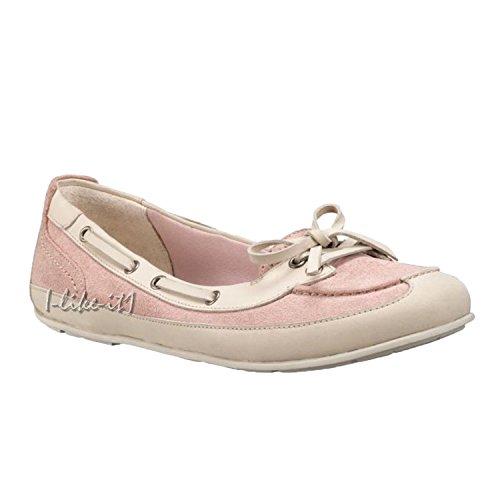 Timberland Boothbay Ballerinas, Mokassins , rosa/beige (36, rosa /beige)