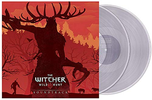 The Witcher 3: Wild Hunt Soundtrack - Exclusive Limited Edition Translucent Clear 2x LP Vinyl