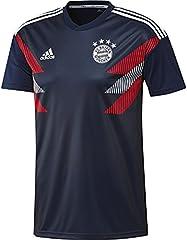 Adidas Camiseta Bayern Munich Pre-Match Hombre Azul Marino y Blanco