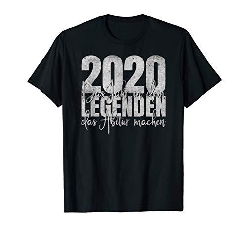 Abitur 2020 Abi Schulabschluss Abschluss Schule T-Shirt