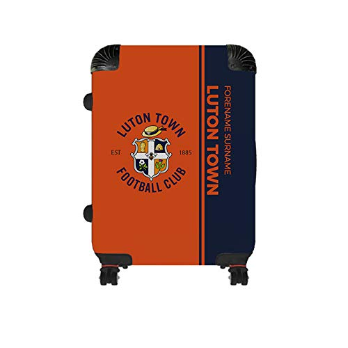 Official Personalised Luton Town FC Crest Cabin Suitcase