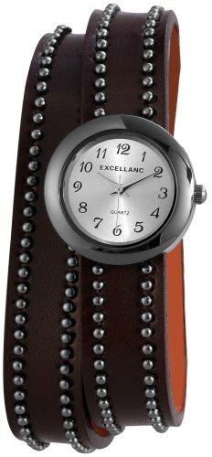 Excellanc Damen-Armbanduhr XS Analog Quarz Verschiedene Materialien 195222000024