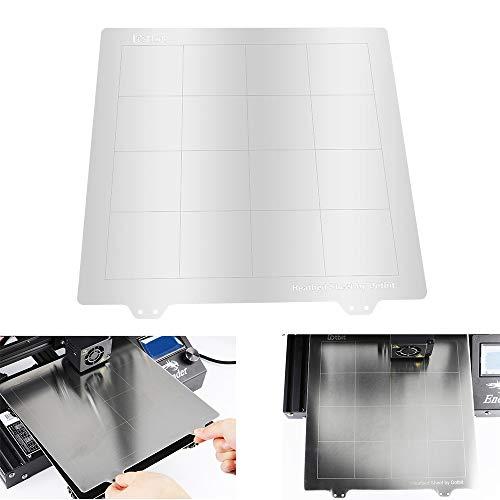 235 * 235mm Spring Steel Sheet Heated Bed Platform For RepRap i3 Ender-3/Wanhao/Anet A8 MK3 3D Printer Part