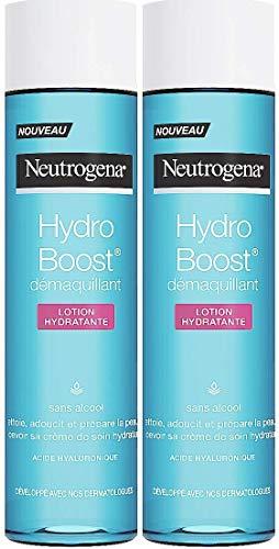 Neutrogena Hydro Boost Démaquillant Lotion Hydratante sans Alcool - Lot de 2