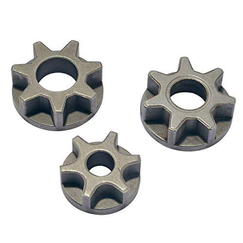 Engranaje de motosierra M10 / M14 / M16 100/115/125/150/180 engranaje de repuesto de amoladora angular para soporte de motosierra accesorios de herramientas eléctricas