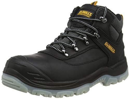 Dewalt Laser- Zapatos de cuero para hombre, talla 42, color negro ✅