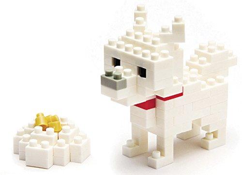Nanoblock - Nbc-005 - Jeu De Construction - Hokkaido Dog