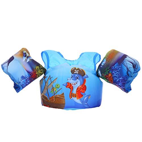 Zeraty Jungen Mädchen Schwimmweste Schwimmflügel für Kinder Kleinkinder von 2-6 Jahren, 14-25kg,Schwimmende Badeanzug lernt Schwimmen
