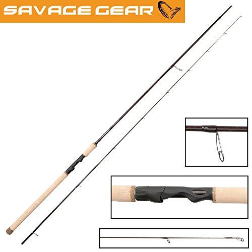 Savage Gear Custom Coastal Spin 304cm 12-40g, Spinnrute, Angelrute zum Spinnfischen, Zweiteilige Rute zum Spinnangeln, Rute für Meerforellen