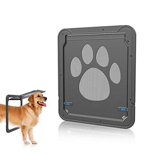PETCUTE Gatera para Perros gatera para Puerta gateras para Gatos medianos y pequeños gateras para Perros Puerta para Mascotas