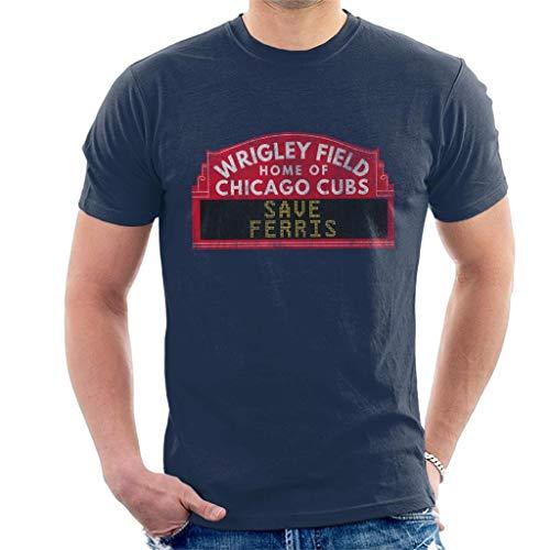 Wrigley Field Chicago Cubs Ferris Bueller Tee for Men