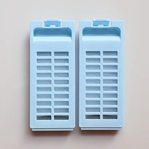 2Pcs Washing Machine Magic Lint Filter For Haier Accessories XQS50-728、XQS60-828
