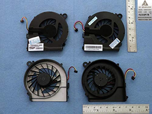 Kompatibel für HP Pavilion G4 G4t G6 G6t G6z G7 G7t Lüfter Kühler Fan Cooler 646578-001, MF75120V1-C170-S9A