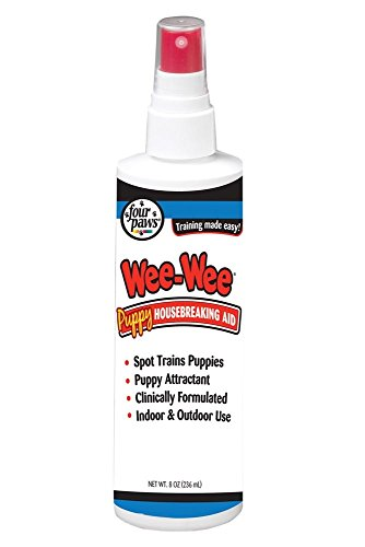 Four Paws Wee Wee Housebreaking Aid Pet Training Size: 8 Ounce