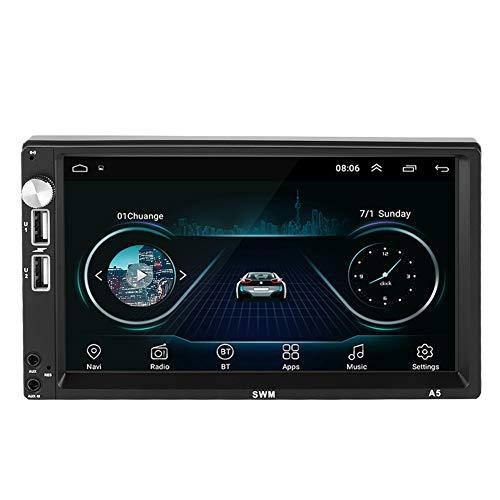 Autoradio-ontvanger, 7 inch 2Din MP5 1 + 16G autoradio Bluetooth MP5 MP3-speler auto multimedia voor Android 8.1, ondersteuning die foto's oppikt, 16G grote opslagcapaciteit kan enorme app downloaden