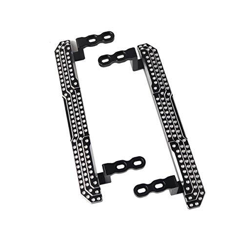 RZXYL TRX4 Metal Side Pedal for 1:10 Traxxas TRX4 RC Crawler Car Body Shell Upgrade Accessories Easy Installation