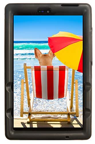 BobjGear Bobj Rugged Tablet Case for (20.3) Lenovo Tab M8 HD (TB-8505F) Kid Friendly (Bold Black)