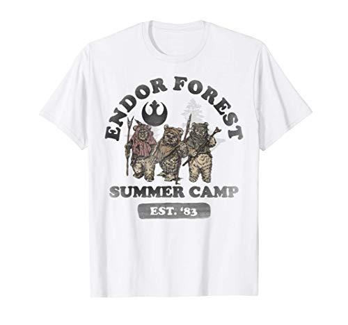 Star Wars Ewok Endor Camp Speeder Vintage Camiseta