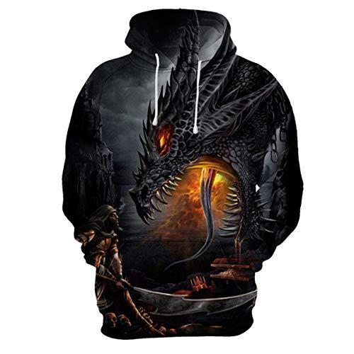 Dragon Print Sweatshirt