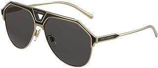 Dolce & Gabbana Occhiali da sole DG2257 133487 occhiali Uomo colore Oro lente grigio taglia 60 mm