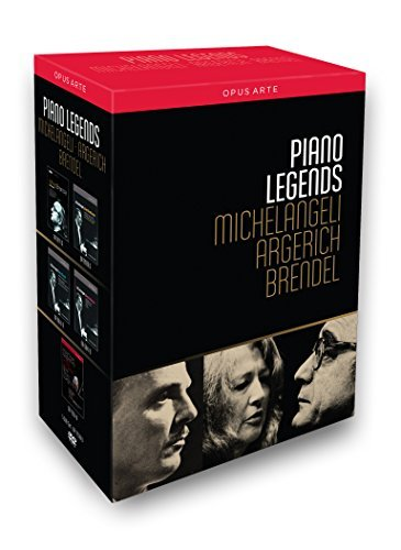 Piano Legends - Michelangeli, Argerich & Brendel [Box Set] by Alfred Brendel