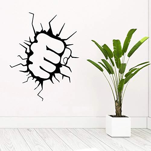 Fondo de decoración de habitación de vinilo de puño decoración de dormitorio de sala de estar