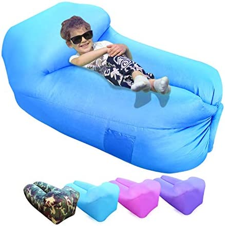 Ulecamp Inflatable Lounger Air Sofa Hammock Portable Quick and Easy to infalted Pack Way Water product image