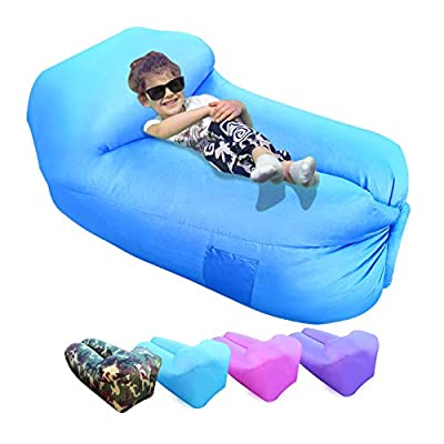 Ulecamp Inflatable Lounger Air Sofa Hammock Por...