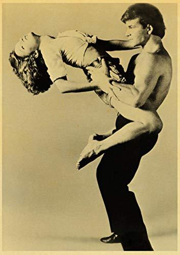 Fanxp Dirty Dancing Leinwand Poster und Drucke, Classic Movie Painting Wandaufkleber, für Home Room Bar Decor40X50Cm