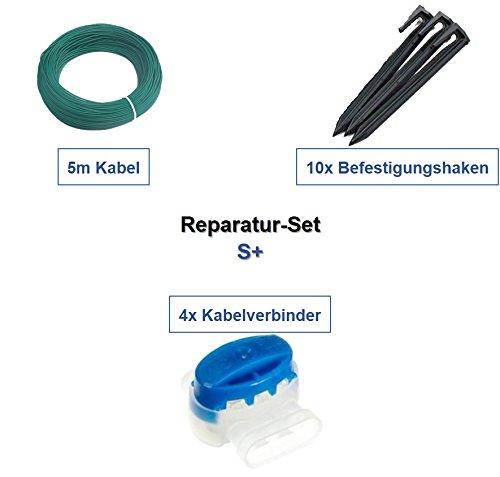 genisys Reparatur-Set S+ Stiga Autoclip 221 223 225 S Kabel Haken Verbinder Reparatur