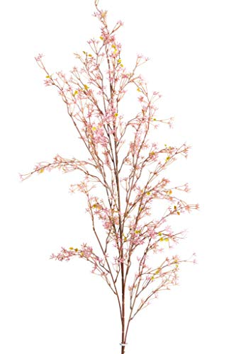 Floratexx künstlicher Frühlingsblütenast (Sternblütenast) groß Farbe: rosa