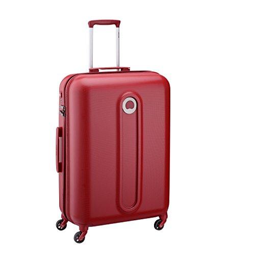 Delsey Paris Helium Classic 2 Maleta, Rojo (Rouge), 71 cm / 74 liters