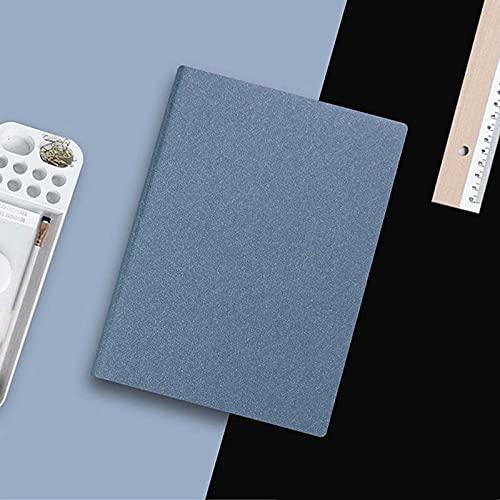 LCJQ Cuadernos de redacción Bronceando A5 Cuaderno Espesado Bloc de Notas Diario Agenda Plan semanal Escribir 1pc Papel (Color : Sky Blue)