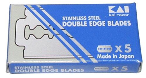 100 Lamette da barba Kai – Stainless Steel