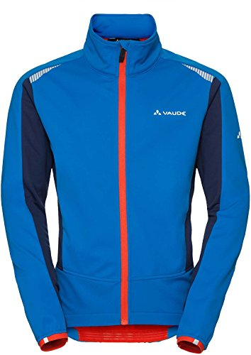 VAUDE Herren Bealach Softshell Jacket Jacke, Hydro Blue, L