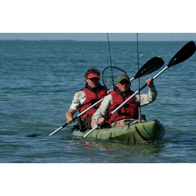 Crescent Kayaks Fisher Xtreme II Tandem/Solo Kayak Color: Olive Green