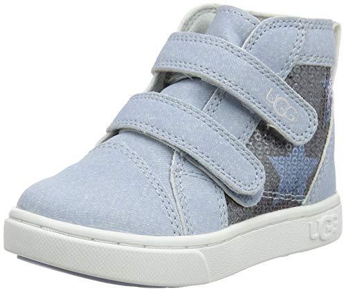 UGG Rennon II Stars, Zapato Unisex Niños, Denim Blue, 22 EU