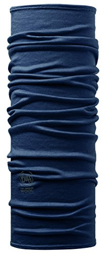 Buff Set 100% Merino Multifunktionstuch + UP® Ultrapower Multifunktionstuch | Unisex | Sturmhaube | Schal | Kopftuch | Halstuch | Schlauchschal, Design:Denim - 108811.00