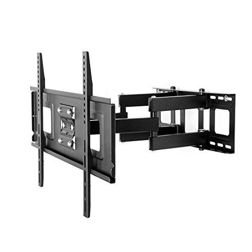 FLEXIMOUNTS A04 Full Motion Articulating TV Wall Mount Bracket for 32-65 Inch LED LCD HD 4K Plasma TV