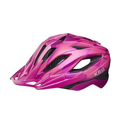 KED Street Jr. Pro M Violet - 53-58 cm - inkl. RennMaxe Sicherheitsband - Fahrradhelm Skaterhelm MTB BMX Erwachsene Jugendliche