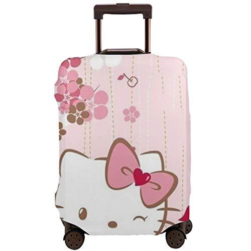 Reisegepäckabdeckung, Smile, Hello Kitty, waschbar, 45,7-81,3 cm, weiß (Weiß) - CHLING-33159942-White-30