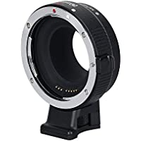 Commlite CM-EF-EOS M Electronic Auto-Focus Lens Mount Adapter-Canon EF/EF-S D/SLR Lens to Canon EOS M (EF-M Mount) Mirrorless Camera Body Adapter for Canon EOS M1 M2 M3 M5 M6 M10 M50 M100