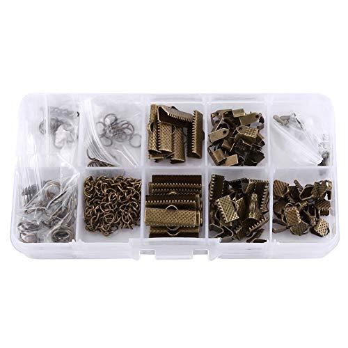 Candeon Smyckesfynd-smycken hantverk skapande kit set fynd tillbehör tillbehör tillbehör tillbehör sortiment i låda (?)