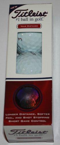 Titleist Tour Distance Golf Balls (3 Pack)