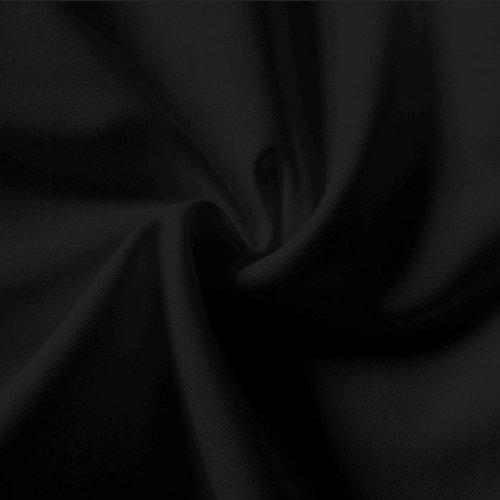 Tela lisa de color negro de 100% algodón, 150 cm por metro: Amazon.es: Hogar