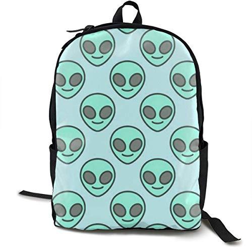 Alien Travel Computer Bag Laptop Backpack Unisex, School College Fits 15'' Laptop BAG-021