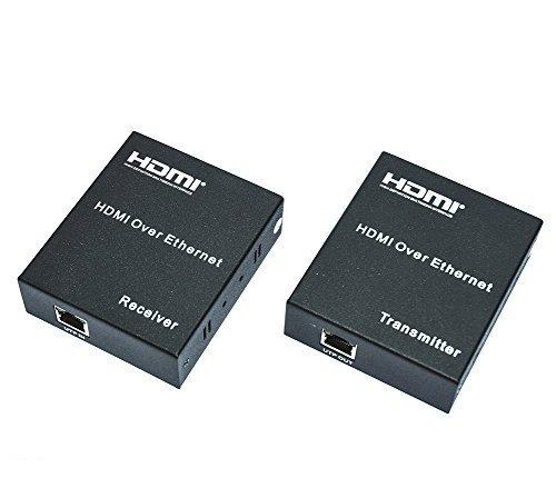 MP power @ HDMI extender via CAT 5e Cat 6 cavo fino a lontano 100M 1080P HDTV 3D 4K video