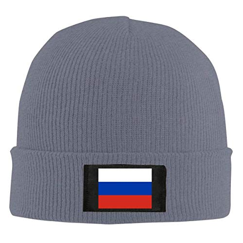 Fashion hat Cap Flag Russia Unisex Warm Winter Wool Hat Knit Beanie Skull Cap